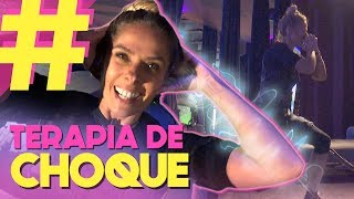 Tomando choque na academia - Malhação do FUTURO | Adriane Galisteu