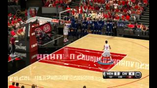 NBA 2K14 Slam Dunk Anime Mod PC Gameplay - Shohoku vs Ryonan