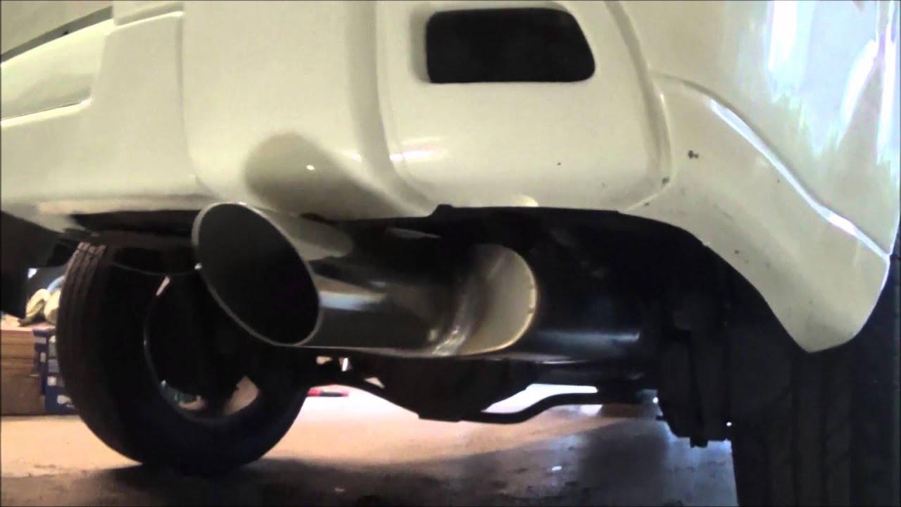 trailblazer custom exhaust with