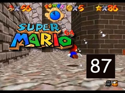 Super Mario 64 - Wet Dry World - Go to Town for Red Coins  - 87/120