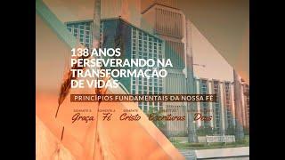 Culto - Noite - 29/08/2021 - Rev. Elizeu Dourado de Lima