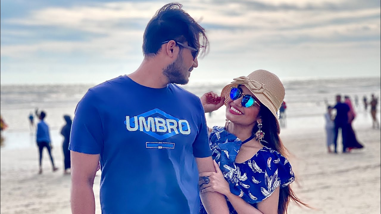 Travel Vlog - Cox's Bazar Trip with Husband 😍 Met Viral Beach Singer Jahid - Modhu hoi hoi
