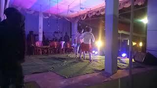 Sakti nath Mahto in stage the drama romantic santhali dance 2019