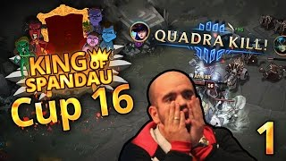 SOLA MEIN JUNGE! QUADRAKILL! | King of Spandau | [C16M1]