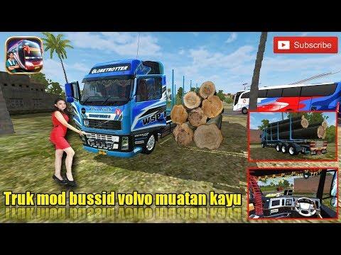 mod-bussid....!!!-truk-volvo-muatan-kayu-batangan