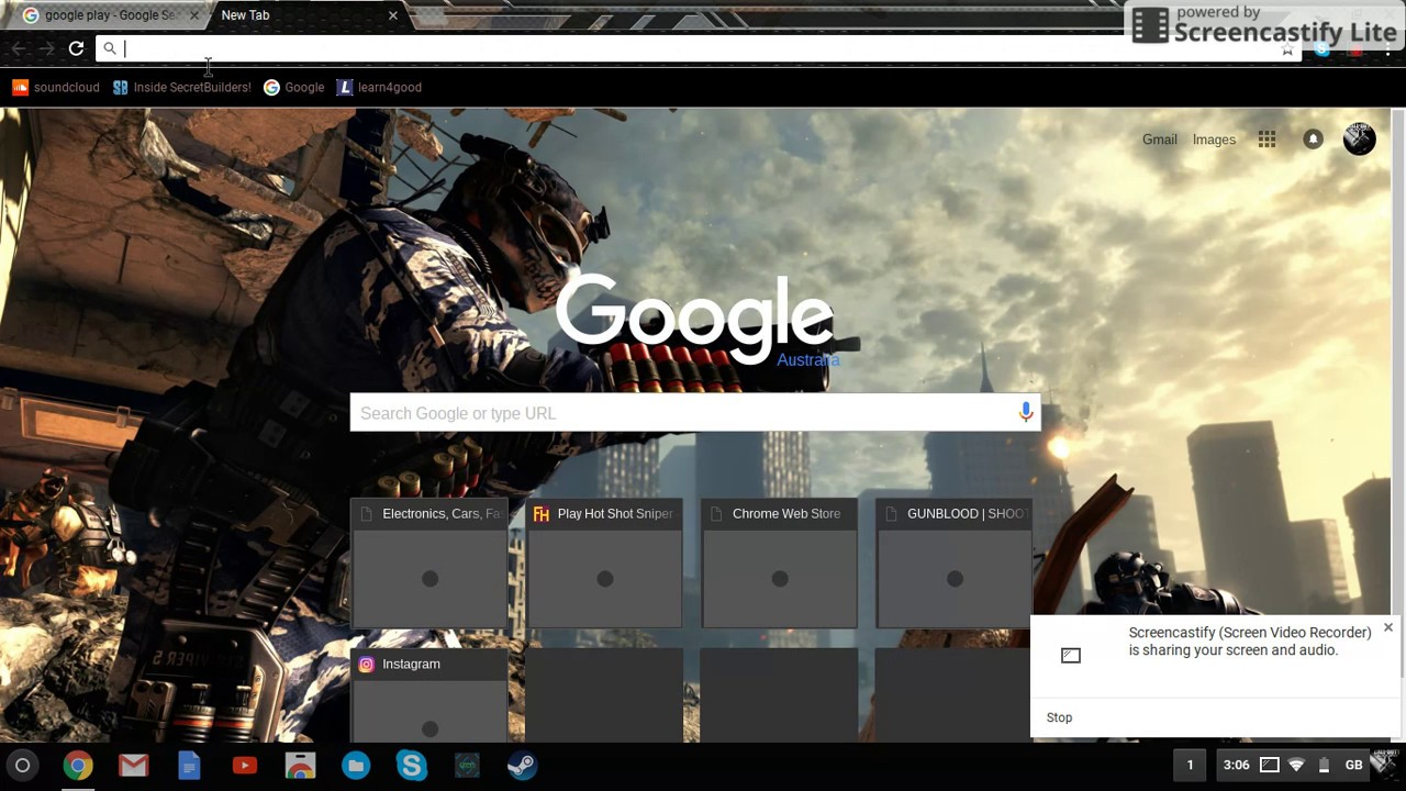 how to get steam on a chromebook