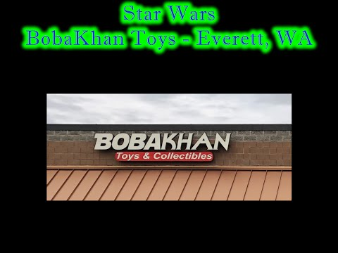MrByZ Reviews Episode # 188 BobaKhan Toys And Collectibles In Everett, WA
