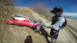 Desert Vlog 2 - Last Ride on the 2006 CRF450X