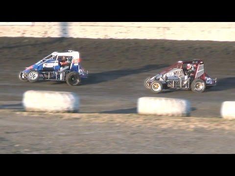 BCRA Midgets  MAIN  6-11-16  Petaluma Speedway