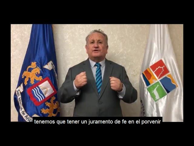 Saludo del Senador José Miguel Durana, en un nuevo aniversario de la región de Arica y Parinacota.