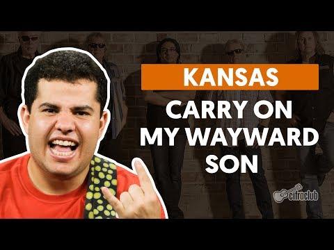 CARRY ON WAYWARD SON - Kansas (aula de guitarra)