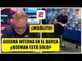 INSÓLITO Koeman lee comunicado, ABANDONA rueda de prensa. ¿GUERRA INTERNA en el Barcelona? | La Liga