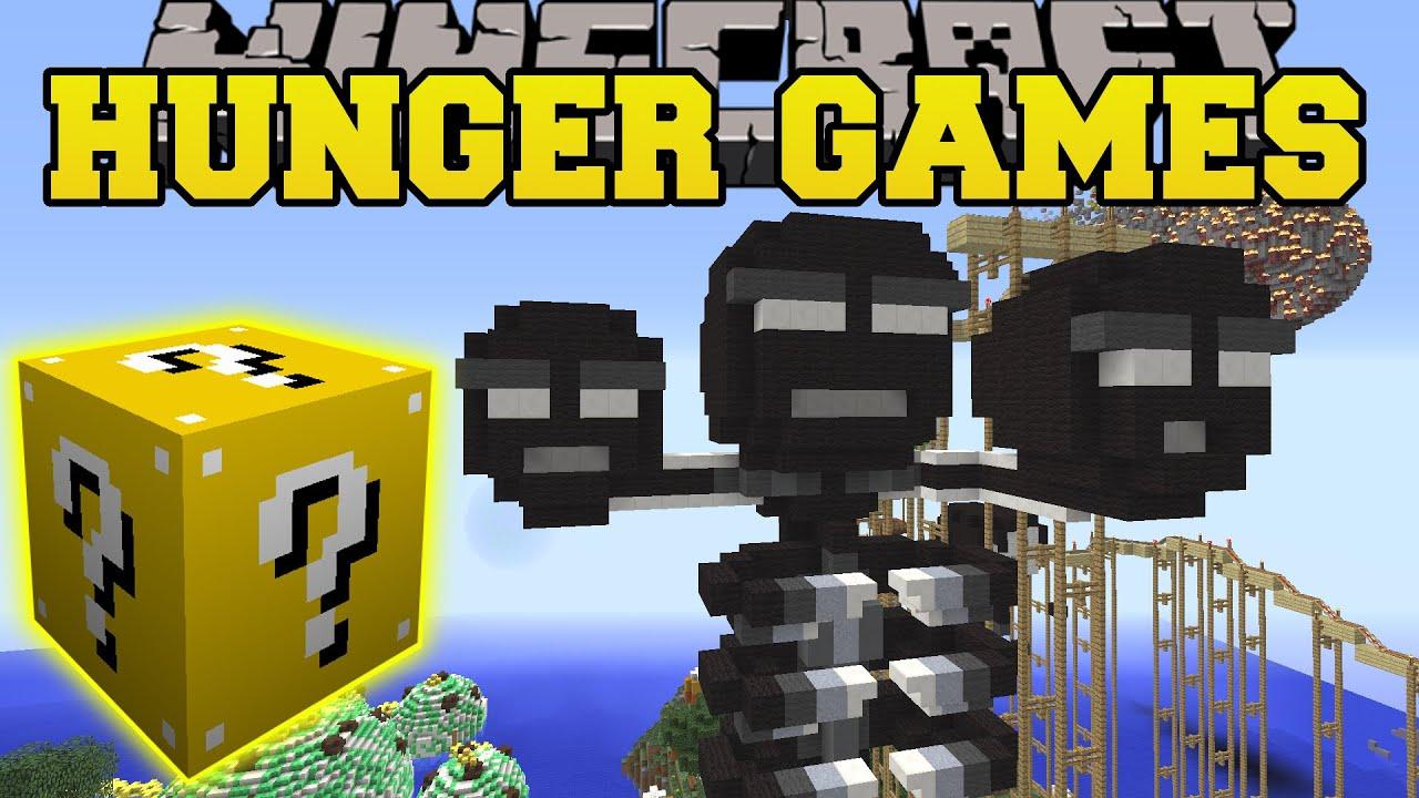 Minecraft Madness Medley Hunger Games Lucky Block Mod