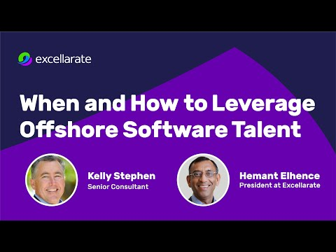 Leveraging Offshore Software Talent - Synerzip Webinar (Dec