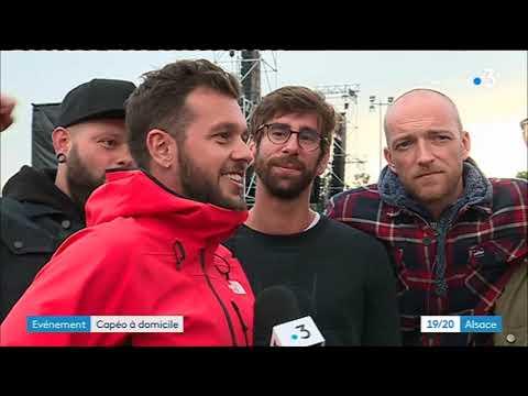 L'interview de Claudio Capéo juste avant son concert à Cernay streaming vf