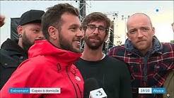 L'interview de Claudio Capéo juste avant son concert à Cernay