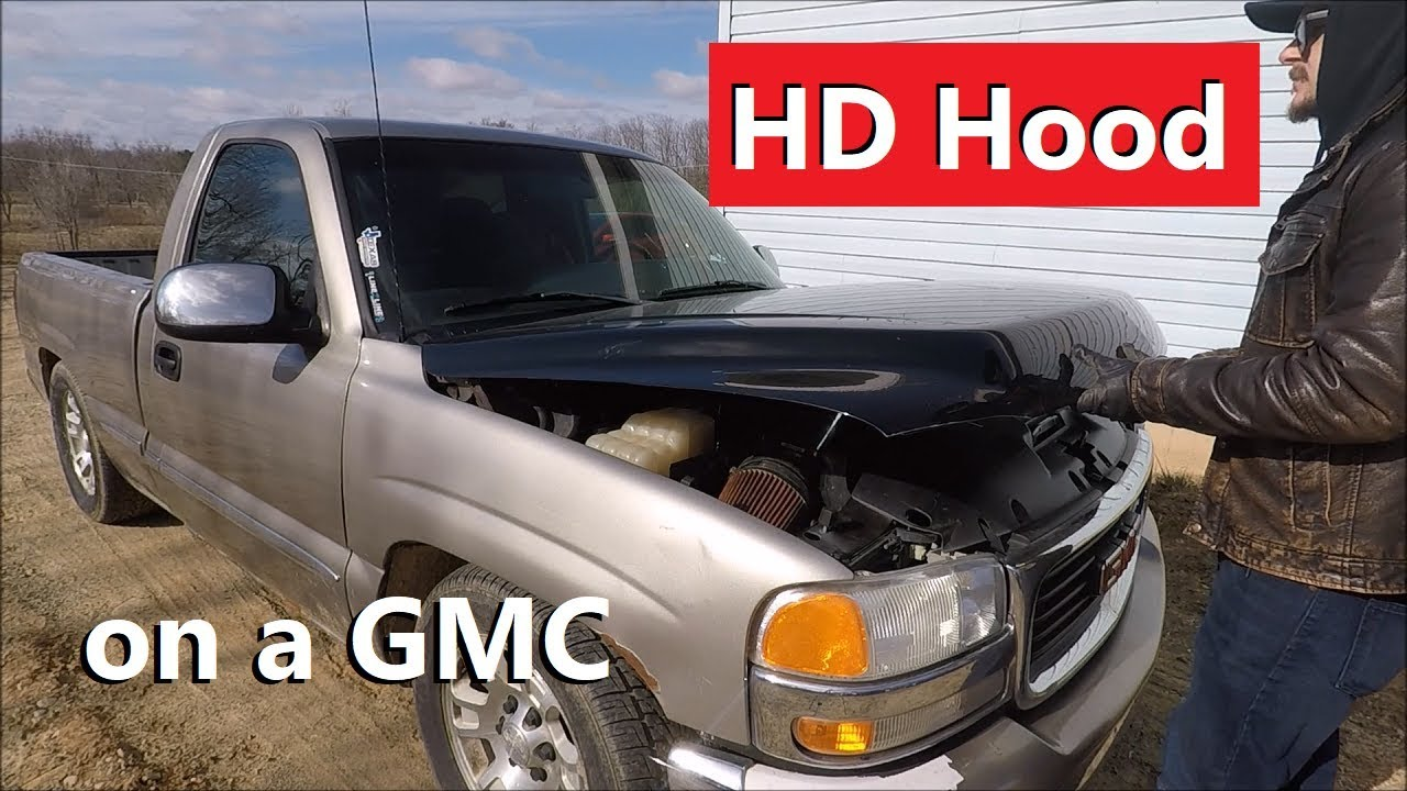 1999 2013 Chevrolet And Gmc Truck 2000 2013 Lmc Truck >> Chevy Hd Hood On A Gmc Don T Do It The Way I Did
