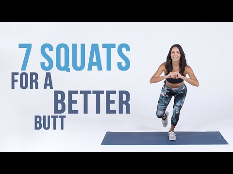7 Types of Squats for a Better Butt | At-Home Workout