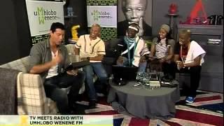 Tv meets radio with umhlobo wenene fm (28.09.2012)