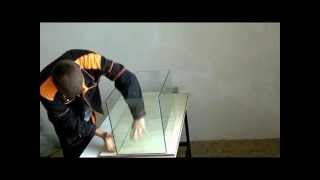 Как сделать аквариум в домашних условиях своими руками !How to make the aquarium !
