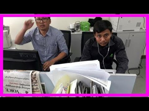 Friends of arrested Reuters reporter in Myanmar pour out hearts on soc