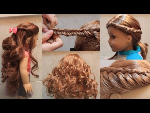 Cute American Girl Doll Hairstyles!