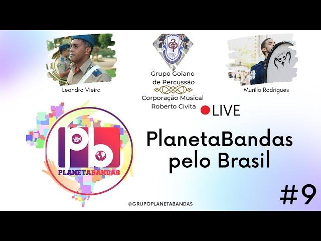 Live PlanetaBandas # 9 - Equipe PB com Leandro Vieira e Murillo Rodrigues
