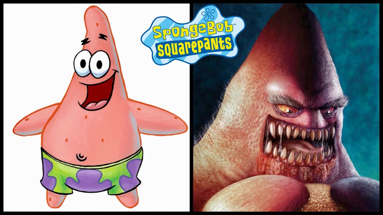 SpongeBob As Scary Monsters Part 2