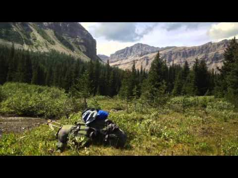 Lake Louise - Skoki Loop Trail - 4 Day Solo Backpack Trip