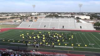 Newman Smith Marching Band - Maestro - UIL Region -  Division 1 Rating 10-17-15
