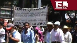 Reporta SSPDF saldo blanco tras la marcha de campesinos en el Centro Histórico/ Comunidad