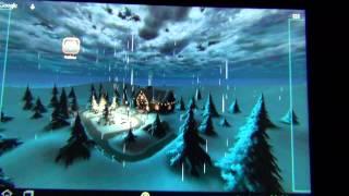 Зима 3D (Live Wallpapers)