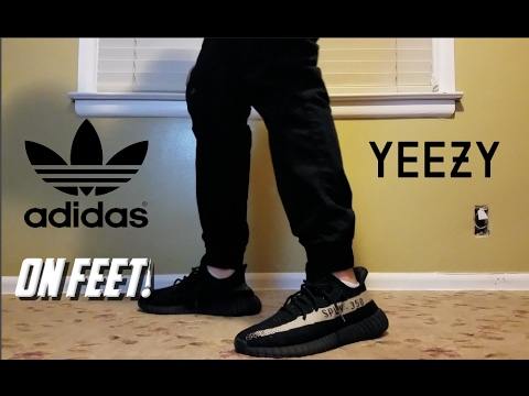 yeezy oreo on feet Adidas Yeezy Boost 350 V2