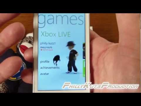 HTC Radar 4G XBOX Live Application Overview