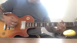 Trying my new 2016 Les Paul with a little blues