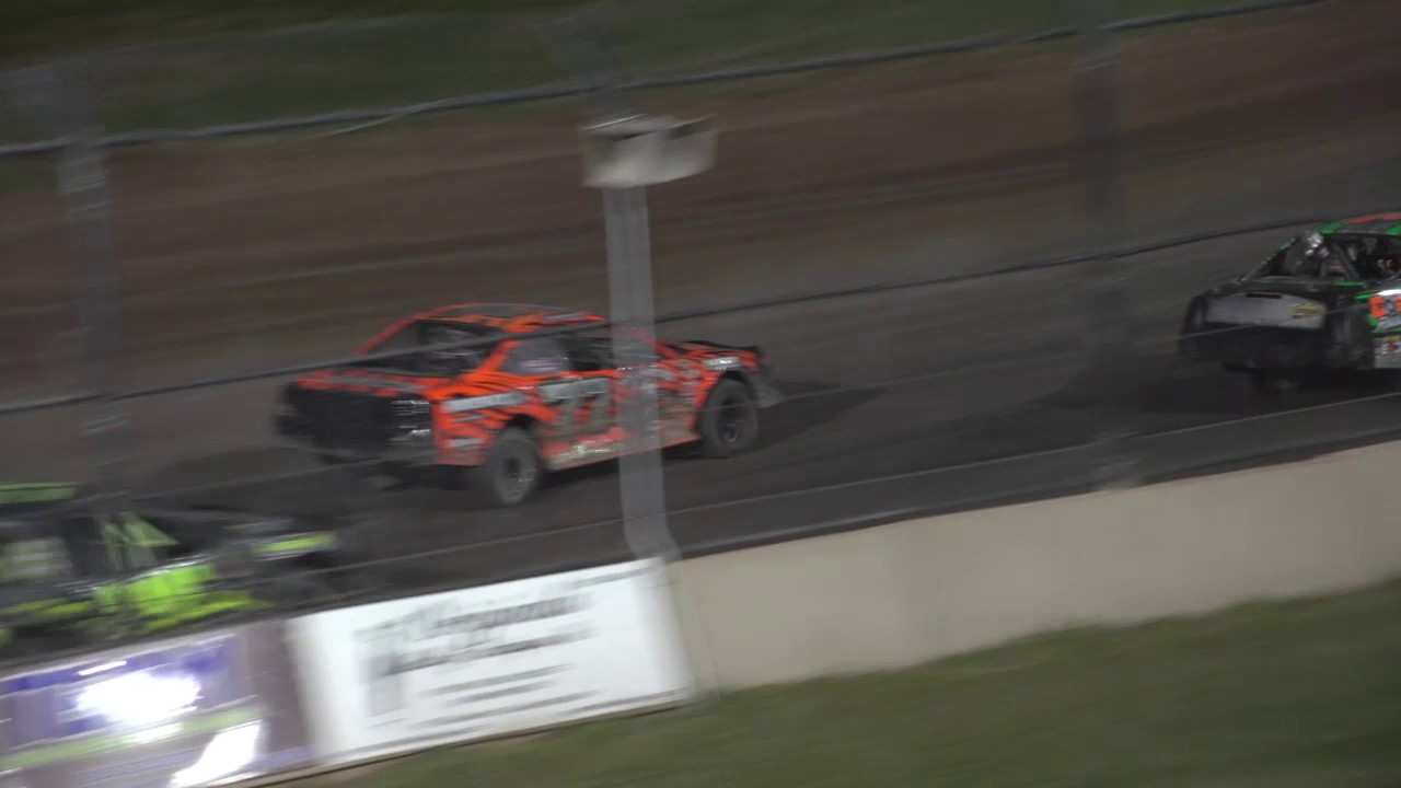 Outlaw Chassis Imca Stock Cars July 13 2017 Youtube