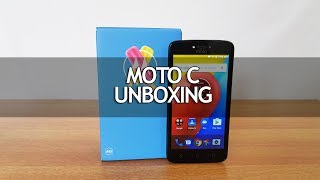 Moto C Unboxing, Hands on, Camera Samples and Software