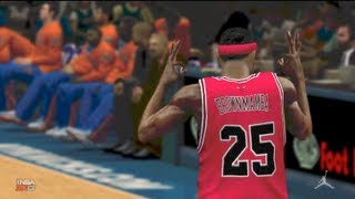 NBA 2k13 MyCareer - A Madison Square Garden Performance | Brown Mamba vs Carmelo Anthony Ep. 8
