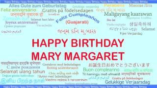 MaryMargaret   Languages Idiomas - Happy Birthday