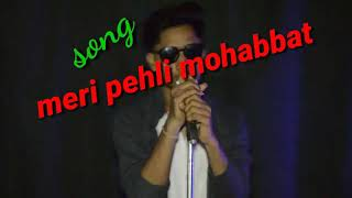 Pehli Mohabbat Unplugged Cover Song By - Anuj soni (Rihaan)