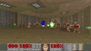 Doom 2: Hell on Earth on NIGHTMARE! difficulty in 23:06, World Record Speedrun 30nm2306