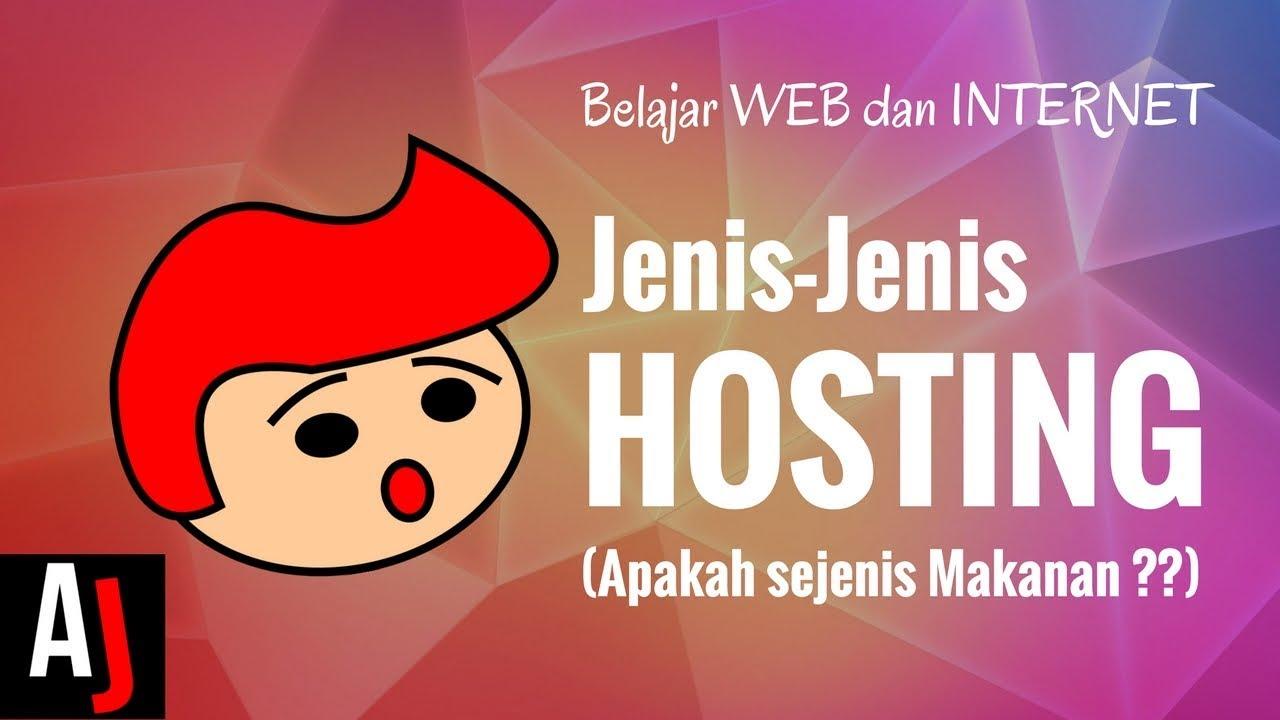 JENIS-JENIS WEB HOSTING (Shared, reseller, VPS, Cloud, Dedicated, Colocation, dsb)