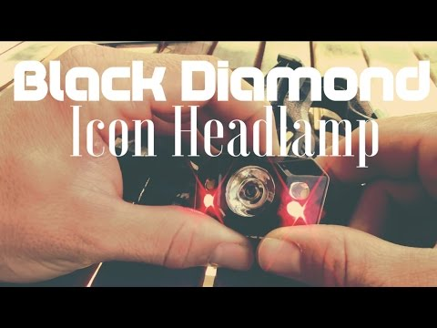 Black Diamond Icon Headlamp Box Opening