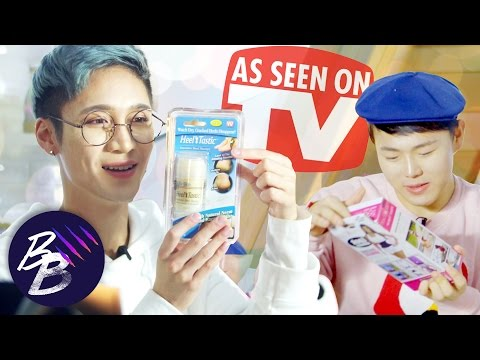 E39💋 Edward & Youngguk Trying American As Seen On TV Products || BeautyBeasts