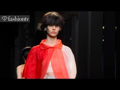 Fendi Spring/Summer 2014 ft Cara Delevingne, Lindsey Wixson   Milan Fashion Week MFW   FashionTV