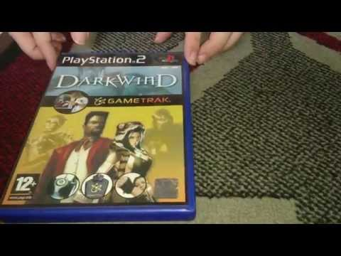 Nostalgamer Unboxes Game Trak Dark Wind On Sony Playstation 2 UK PAL System Version