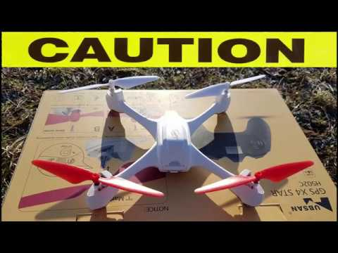 Epic High Altitude Drone Crash H502c