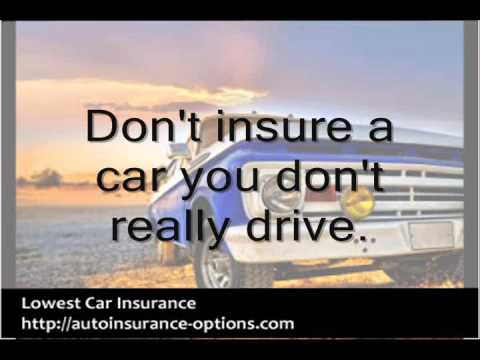 Lowest Auto Insurance - Tips on Getting the Lowest Insurance Rates