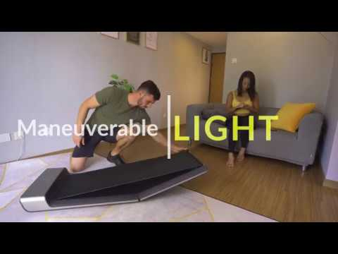 This Tiny, Foldable Treadmill Is Perfect For Urbanites