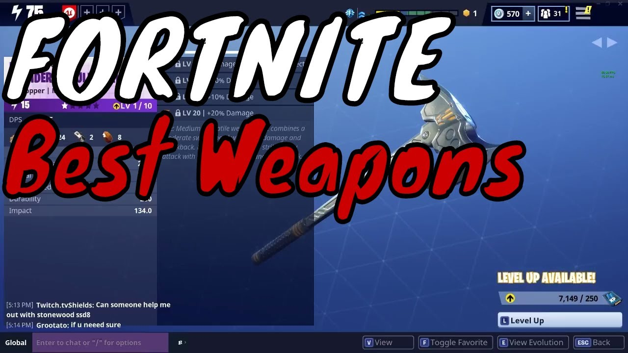fortnite save the world tips 3 fortnite best weapon perks - fortnite perks guide